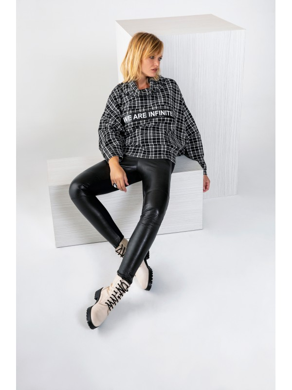 Gafna Bluz Siyah
