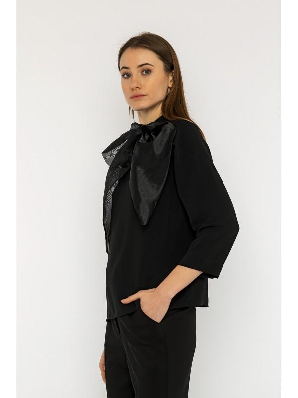 Aurora Bluz Siyah